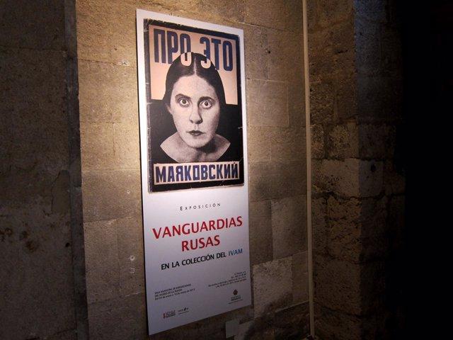Cartel de la exposición de 'Vanguardias Rusas. En la colección del IVAM'
