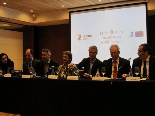 Presentación en Barcelona de tres proyectos europeos sobre enfermedades raras