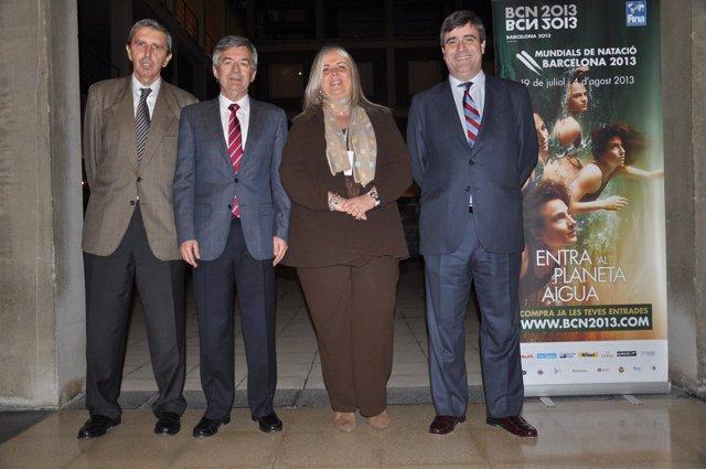 Natación.- Constituido el consorcio Barcelona 2013 que permite la desgravación fiscal de patrocinadores y colaboradores
