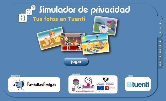 Tuenti y PantallasAmigas lanzan un simulador de privacidad para redes sociales