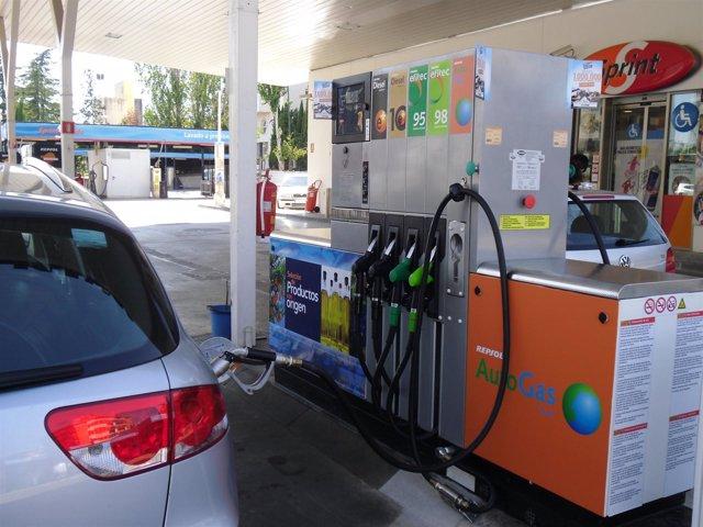 Suministro de autogas