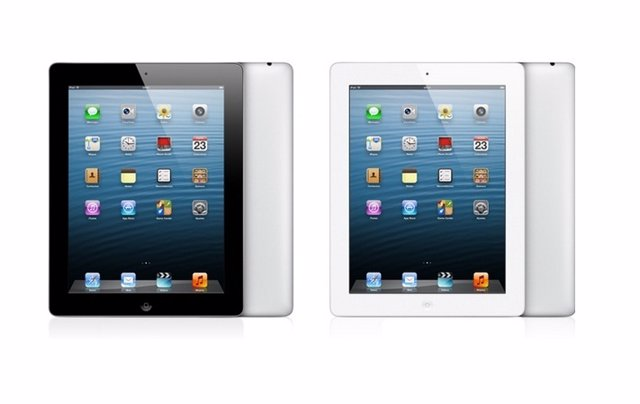 Apple confirma un iPad de cuarta generación con 128 GB