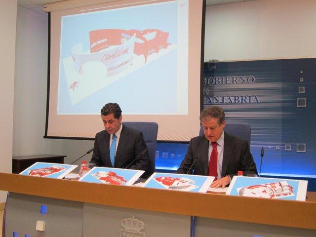 Presentación del stand de Cantabria para Fitur 2013