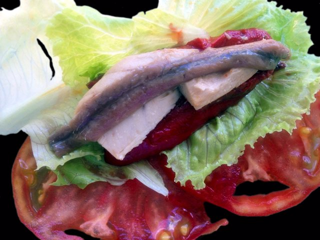 Gastronomía, ensalada