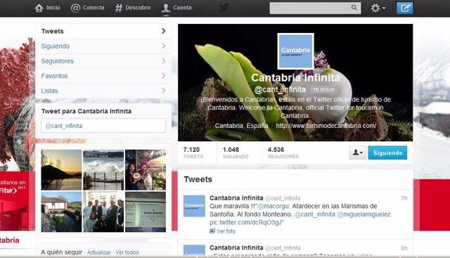 Twitter Cantabria Infinita
