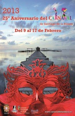 Cartel Carnaval Santiago de la Ribera