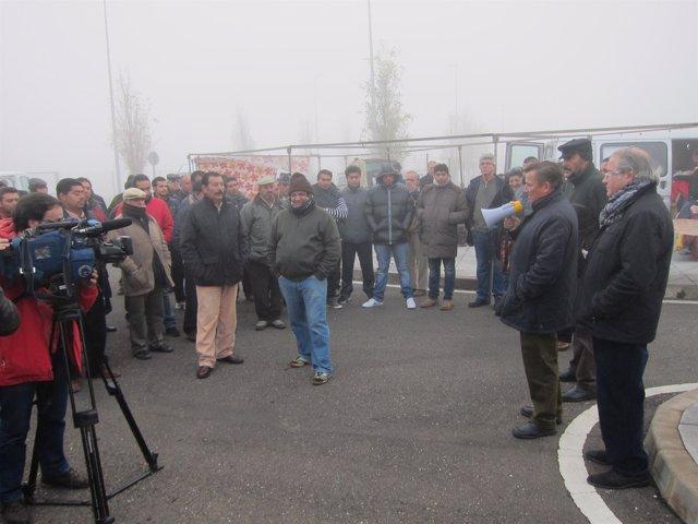 Asamblea De Vendedores Ambulantes De Cáceres En Diciembre