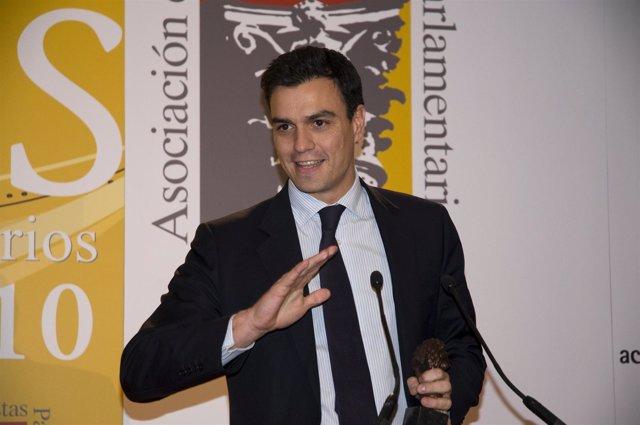Pedro Sánchez Castejón, del PSOE