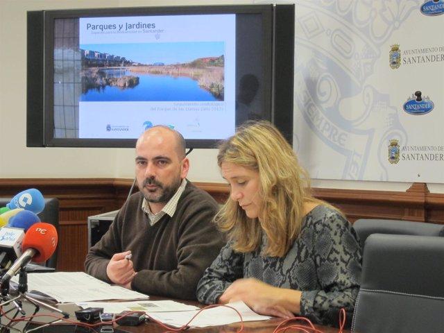 González y Tejerina en la rueda de prensa
