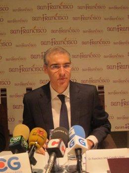 El conselleiro de Economía e Industria, Francisco Conde