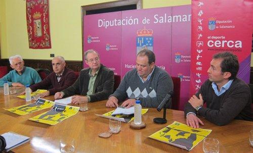 Presentación del Cross de Aldeatejada en la Diputación de Salamanca