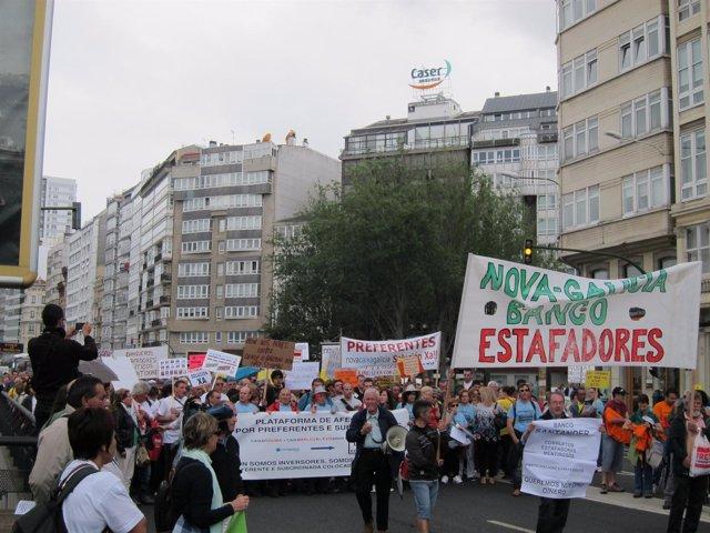 Manifestaciones Por Las Preferentes