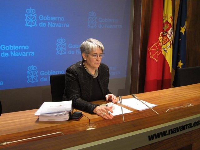 La vicepresidenta primera del Gobierno, Lourdes Goicoechea.