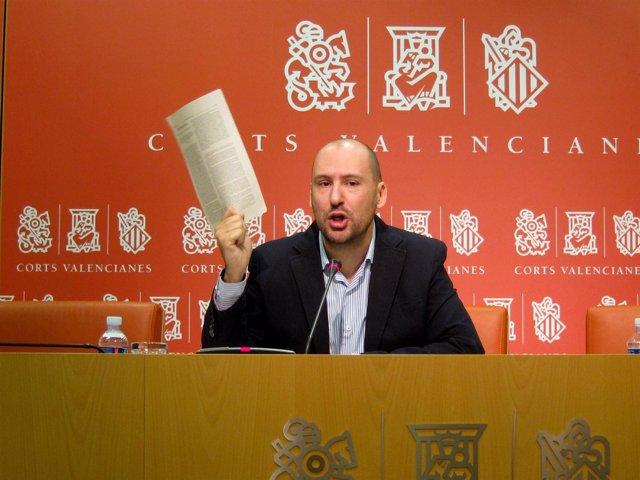 Josep Moreno en una rueda de prensa