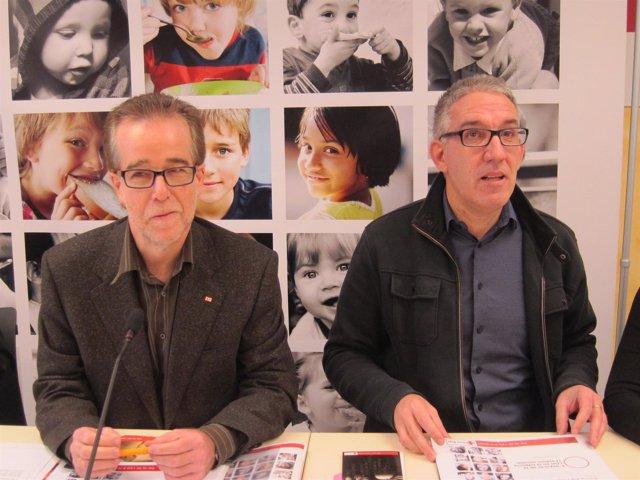 Josep Marquès y Enric Morist, Cruz Roja Catalunya