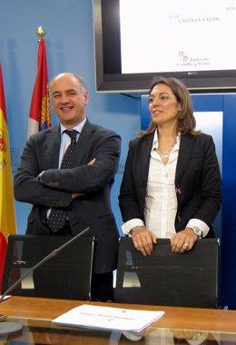 Miguel Ángel García Nieto y Milagros Marcos