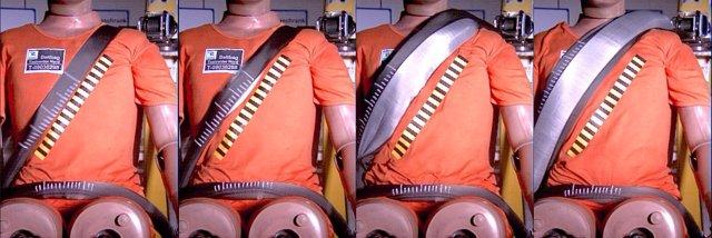 Cinturón de seguridad con airbag de Autoliv