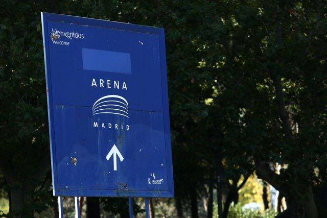 Alrededores del Madrid Arena