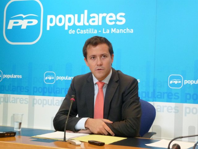 Carlos Velázquez, portavoz de Sanidad PP C-LM