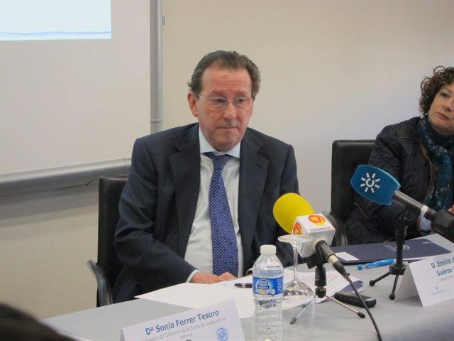 El consejero de Justicia e Interior de Andalucía, Emilio de Llera