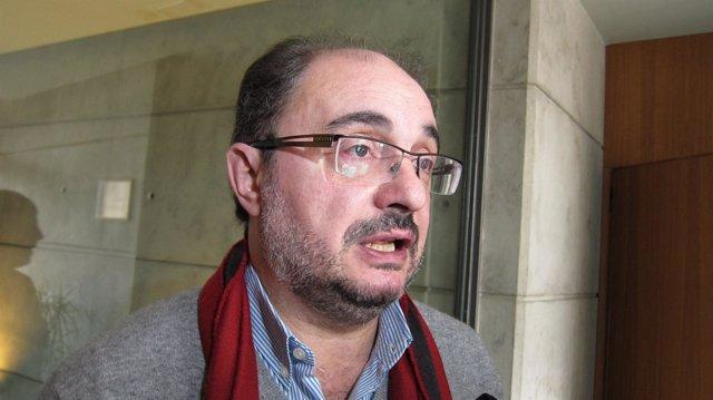 Javier Lambán, secretario general del PSOE-Aragón