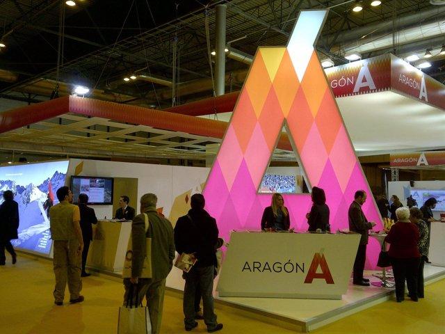 Stand de Aragón en Fitur 2013