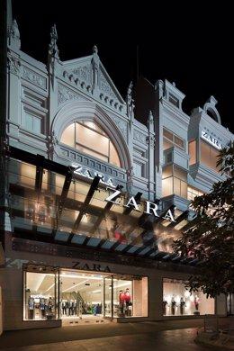 Primera Tienda Zara En Melbourne