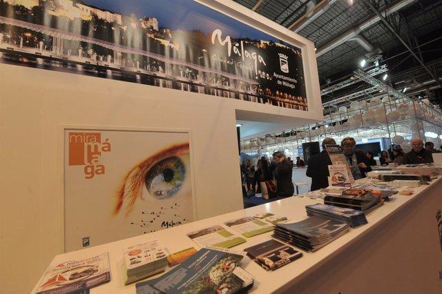 Expositor de Málaga capital en Fitur  turismo nueva imagen