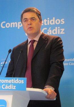 Carlos Rojas, portavoz del PP en el Parlamento andaluz