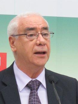 El consejero de Cultura y Deporte de la Junta de Andalucía, Luciano Alonso