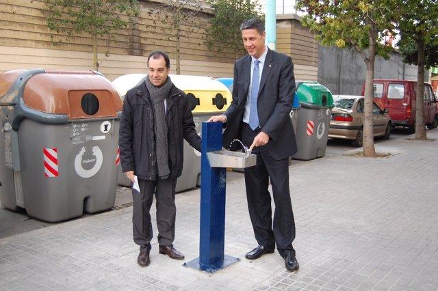 """Fuente que evita """"actos de civismo"""" con el alcalde de Badalona, Xavier G.Albiol"""