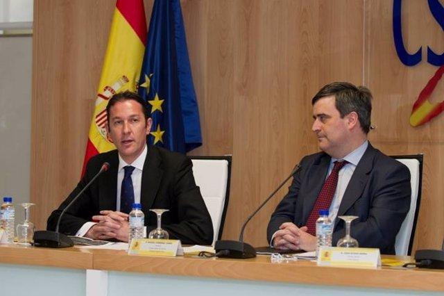 Pipe Gómez y Miguel Cardenal