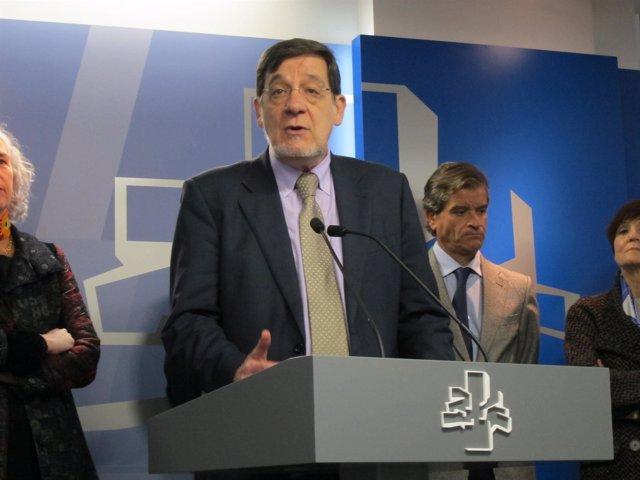 El presidente del TSJPV, Juan Luis Ibarra