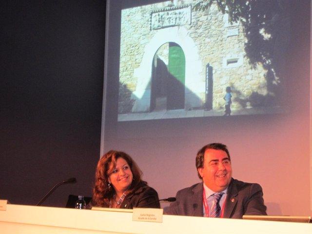 Alcalde de A Coruña en Fitur
