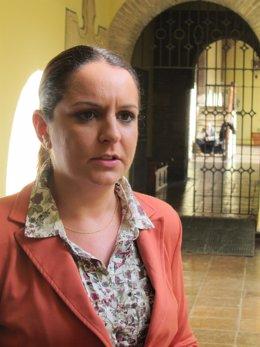 Carmen Cantero en el Palacio de Congresos de Córdoba