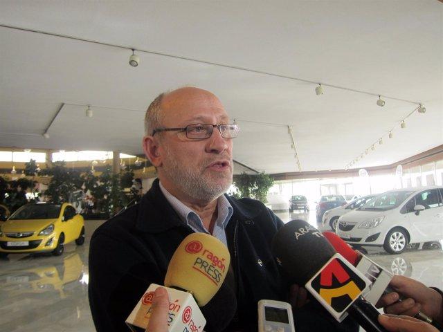 El presidente del comité de empresa, Ramón Legarre.