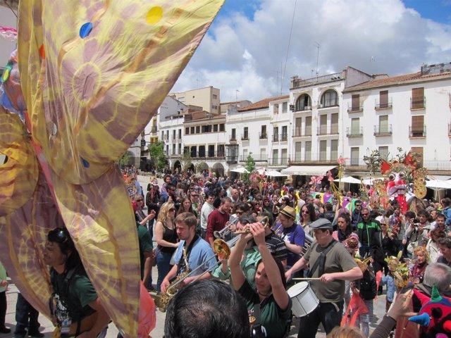 Clausura Del Festival Womad 2012 En Cáceres