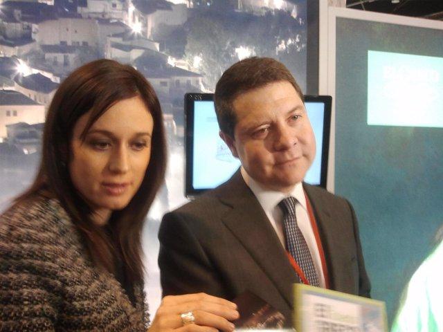 El alcalde de Toledo Garcia-Page en Fitur