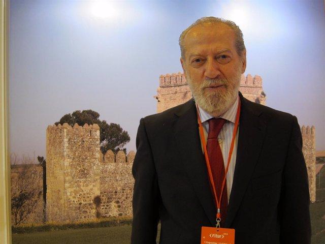 Presidente de la Diputación sevillana, Fernando Rodríguez Villalobos, en Fitur