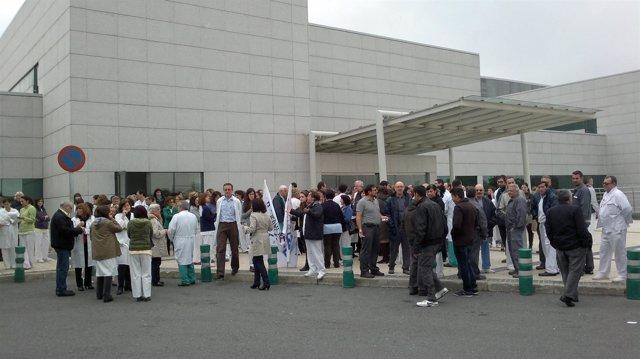 Protesta Hospital Puerta de Hierro