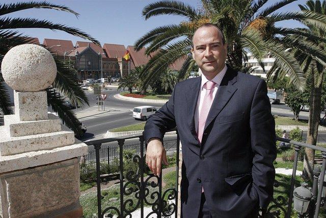 El alcalde de Almería, Luis Rogelio Rodríguez-Comendador (PP)