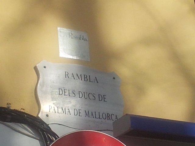 Rambla de los Duques de Palma