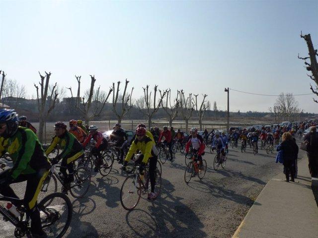 Marcha Ciclista En Protesta Por La Muerte De Dos Ciclistas