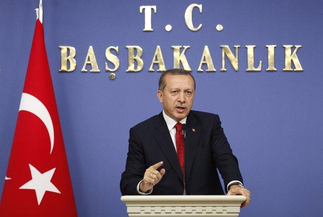 Primer Ministro Turco, Recep Tayyip Erdogan