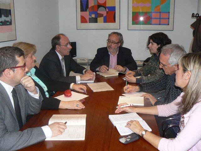 Reunión Bedera con representantes Asoc. Educación Musical