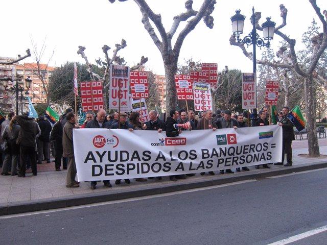 Trabajadores de Bankia