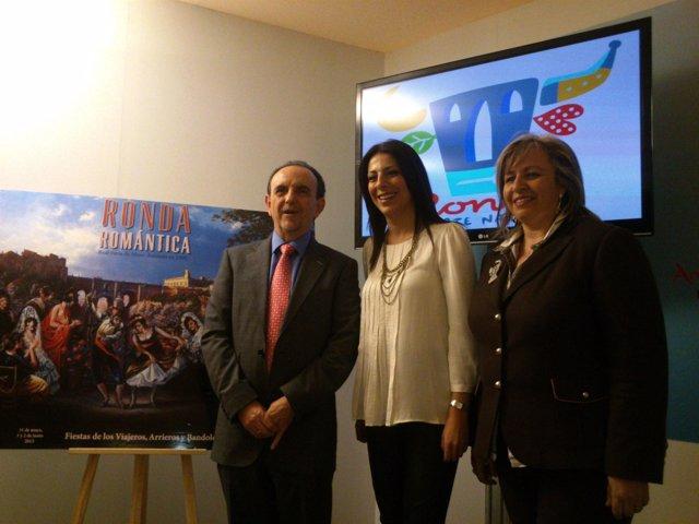 El consejero Rafael Rodríguez presenta la oferta turística de Ronda en Fitur