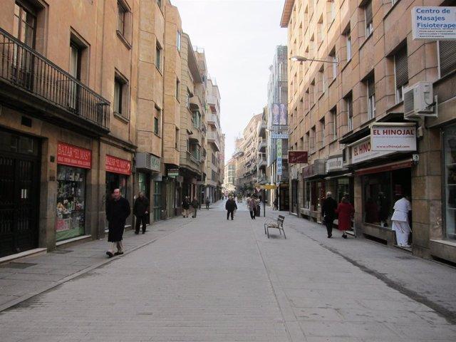 Calle Azafranal de Salamanca