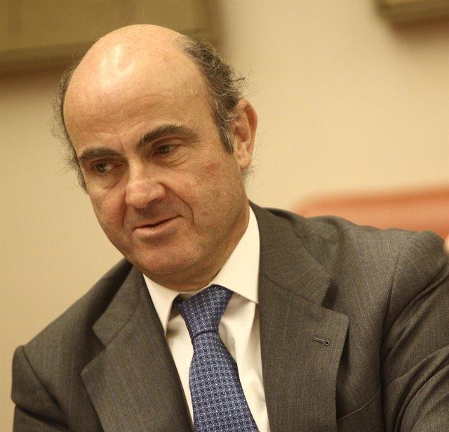 Luis De Guindos En Comisión