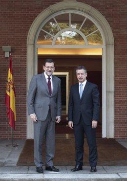 Mariano Rajoy e Iñigo Urkullu